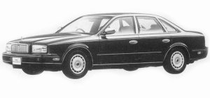 Nissan President JS TYPE G 1993 г.
