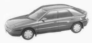 Mazda Familia ASTIMA 1500 1993 г.