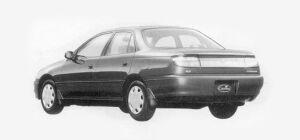 Toyota Carina SEDAN 1500SX 1993 г.