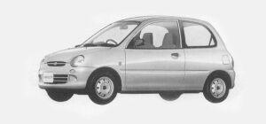 Mitsubishi Minica 3 DOORS Pf (M/T) 1993 г.