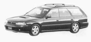Subaru Legacy 4WD TOURING WAGON GT 1993 г.
