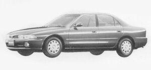 Mitsubishi Galant 2.0 DIESEL TURBO MU(D) 1993 г.
