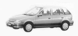 Suzuki Cultus 5 Doors 1000 1993 г.
