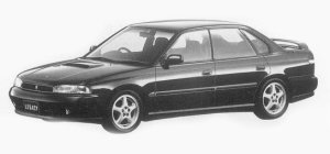 Subaru Legacy 4WD TOURING SPORT RS 1993 г.