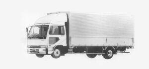 Nissan Diesel Condor FINE, WIDE, WING VAN 1993 г.
