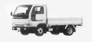 Nissan Diesel Condor 20 STANDARD, FULL SUPER LOW 1993 г.