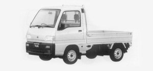 Subaru Sambar Truck STANDARD ROOF SDX 1993 г.