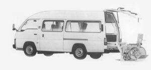 Nissan Caravan VAN 2WD GASOLINE 1993 г.
