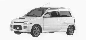 Daihatsu Mira TURBO TR-XX R 1993 г.