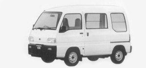 Subaru Sambar HIGH ROOF STD 2-SEATER 1993 г.