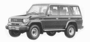 Toyota Land Cruiser Prado WAGON 4 DOORS SX 1993 г.