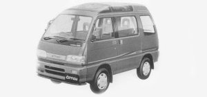 Daihatsu Atrai SUPER CRUISE, ALL TIME 4WD 1993 г.