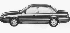 Mitsubishi Debonair EXCEED II 1993 г.