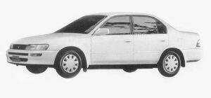 Toyota Corolla SEDAN 1500SE-LIMITED 1993 г.