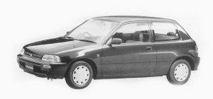 Daihatsu Charade POSE 1300 3DOORS 1993 г.