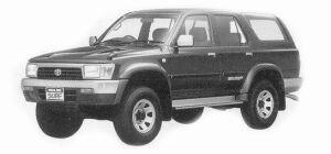 Toyota Hilux Surf 3000 DIESEL TURBO SSR-V 1993 г.