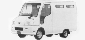 Nissan Atlas Loco 100 2WD STANDARD ROOF DX 2 SEATER 1993 г.