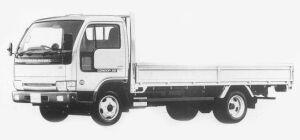 Nissan Diesel Condor 20 WIDE, LONG, FULL SUPER LOW 1993 г.