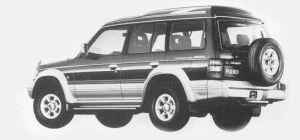Mitsubishi Pajero KICKUP ROOF XR 1993 г.