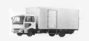 Nissan Diesel Condor FINE, DRY VAN 1993 г.