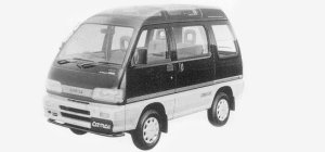 Daihatsu Atrai CRUISE LIMITED, PART TIME 4WD 1993 г.