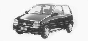 Daihatsu Mira P 3 Doors 1993 г.