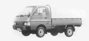 Nissan Vanette Truck 4WD STANDARD, SUPER LOW 2000DX 1993 г.