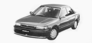 Mazda Familia 4 Doors SEDAN INTER PLAY SE 1993 г.