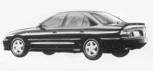 Mitsubishi Galant V6 2.0 DOHC 24V TWIN TURBO VR-4 1993 г.