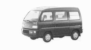 Honda Street EX 4WD 1992 г.