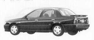 Nissan Pulsar 4DOOR SEDAN 1500X1 1992 г.