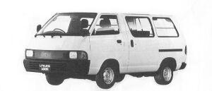 Toyota Liteace VAN SUPER SINGLE 2000 JUST LOW DIESEL 1992 г.