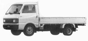 Mazda Ford Truck J100 1.5T 2200 DIESEL 1992 г.