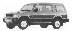 Mitsubishi Pajero MID ROOF XG 1992 г.