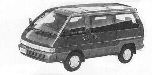 Nissan Vanette LARGO COACH 2WD GRAND SALON GASOLINE 1992 г.