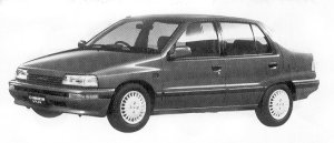 Daihatsu Charade SOCIAL SR LIMITED 1992 г.