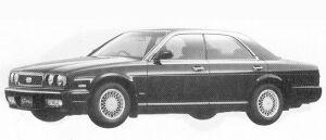 Nissan Gloria V30 TWIN CAM TURBO LV 1992 г.