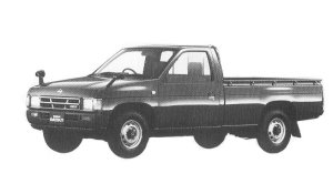 Nissan Datsun 2WD DX DIESEL 2700 1992 г.