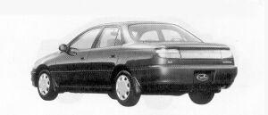 Toyota Carina SEDAN 1500 SX 1992 г.