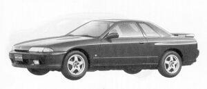 Nissan Skyline 2DOOR SPORT TYPE GTS-4 1992 г.