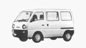 Suzuki Carry VAN GA 1992 г.