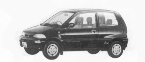 Mitsubishi Minica 3DOOR PIACE 4WD 1992 г.