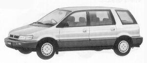 Mitsubishi Chariot MZ 1992 г.