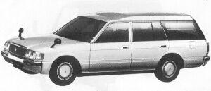 Toyota Crown VAN DELUXE 1992 г.