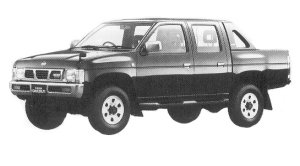 Nissan Datsun 4WD DOUBLE CAB AX TURBO 1992 г.