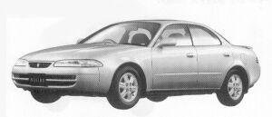 Toyota Sprinter Marino 1600 G 1992 г.