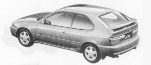 Toyota Corolla FX GT 1992 г.