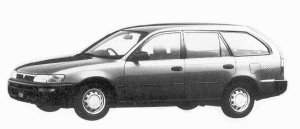 Toyota Sprinter VAN 2000 DIESEL XL  EXTRA 1992 г.