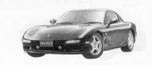 Mazda Efini RX-7 TYPE X 1992 г.