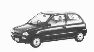 Subaru Vivio 4WD 3DOOR EF 5MT 1992 г.